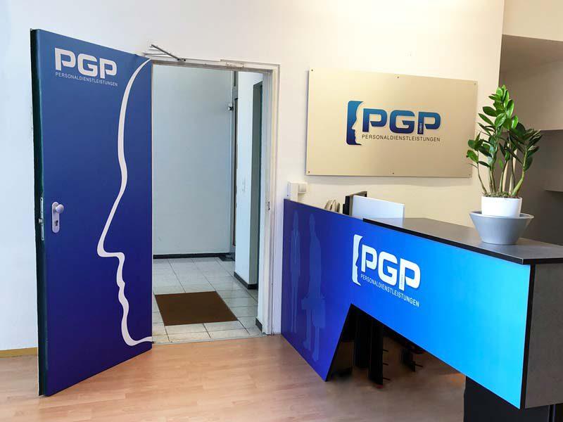 Innenwerbung PGP