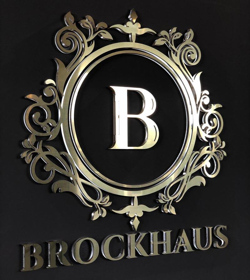 3D-Buchstaben Brockhaus