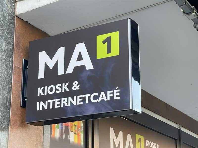 Leuchtkasten MA1 Kiosk