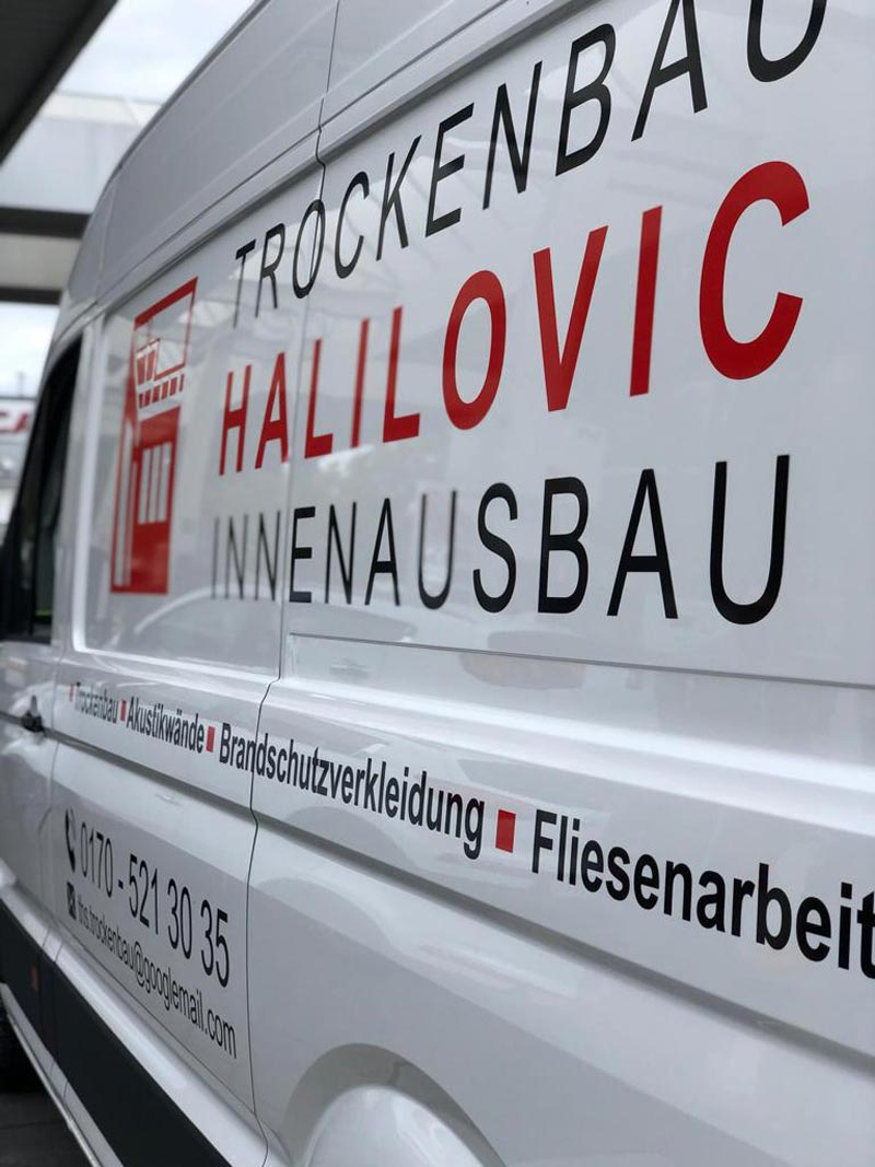 Transporterbeschriftung Halilovic